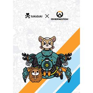 [Overwatch/Tokidoki: Journal: Wrecking Ball (Hardcover) (Product Image)]