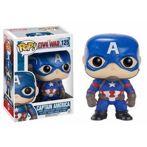 [Captain America: Civil War: Pop! Vinyl Figures: Captain America (Product Image)]