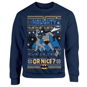 [Batman: The Animated Series: Christmas Jumper: Naughty Or Nice? (Product Image)]