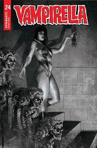 [Vampirella #24 (Cover I Mastrazzo Black & White Variant) (Product Image)]