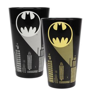 [Batman: Cold Change Large Glass: Logo (Product Image)]