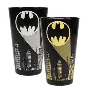 [Batman: Cold Change Large Glass: Logo (Product Image)]