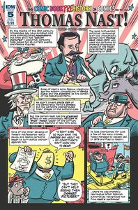 [Comic Book History Of Comics #5 (Subscription Variant) (Product Image)]