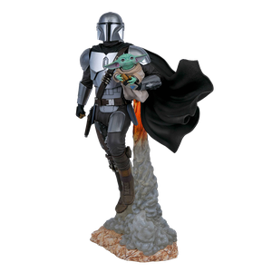 [Star Wars: The Mandalorian: Milestones Statue: The Mandalorian & Child (Product Image)]