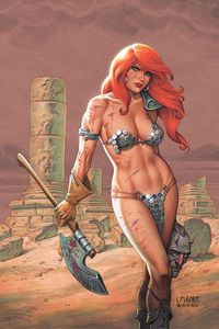 [Red Sonja #19 (Cover B Linsner) (Product Image)]
