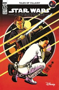 [The cover for Star Wars Adventures (2020) #6 (Cover A Francavilla)]