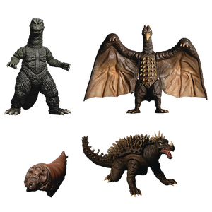 [Godzilla: Action Figure Xl Box Set: Destroy All Monsters (1968): Round 1 (Product Image)]