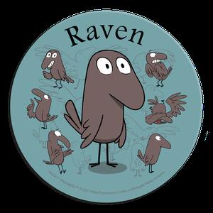 [Hilda: Coaster: Raven (Product Image)]