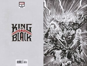[King In Black #3 (Stegman Virgin Sketch Variant) (Product Image)]