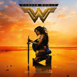 [Wonder Woman: 2018 Square Calendar (Product Image)]