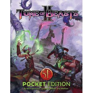 [Tome Of Beasts II: 5th Edition (Pocket Edition) (Product Image)]