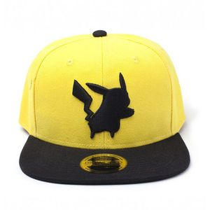 [Pokemon: Snapback Cap: Pikachu Yellow Silhouette (Product Image)]