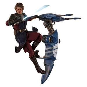 [Star Wars: The Clone Wars: Hot Toys Action Figure: Anakin & STAP (Product Image)]