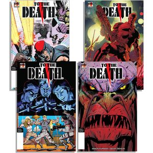 [To The Death #1 (4 Cover Set Signed Edition) (Product Image)]