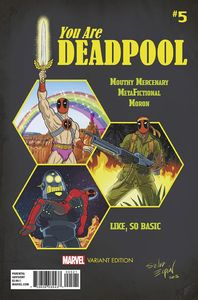 [You Are Deadpool #5 (Espin Rpg Variant) (Product Image)]