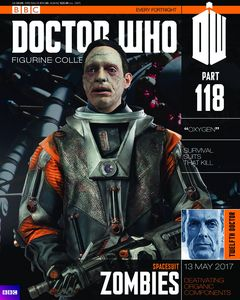 [Doctor Who: Figurine Collection Magazine #118 Spacesuit Zombie (Product Image)]