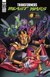 [Transformers: Beast Wars #9 (Cover B Tramontano) (Product Image)]