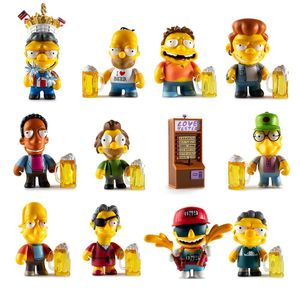 [Kidrobot: Mini Figures: The Simpsons Moes Tavern Series (Product Image)]