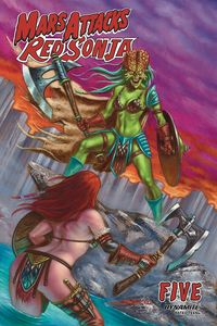 [Mars Attacks/Red Sonja #5 (Cover B Strati) (Product Image)]