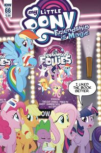 [My Little Pony: Friendship Is Magic #66 (Cover A Fleecs) (Product Image)]