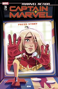 [Marvel Action: Captain Marvel #3 (Product Image)]