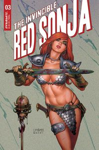 [Invincible Red Sonja #3 (Cover B Linsner) (Product Image)]