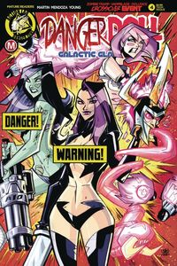 [Danger Doll Squad: Galactic Gladiators #4 (Cover D Marcelo Risque) (Product Image)]