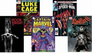 [Marvel Legacy: Lenticular 5 Pack (Set 5) (Product Image)]