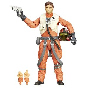[Star Wars: The Force Awakens: Black Series: Wave 2 Action Figures: Poe Dameron (6 Inch Version) (Product Image)]