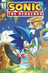 [Sonic The Hedgehog #1 (Cover A Hesse) (Product Image)]