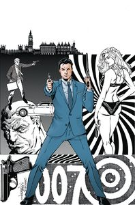 [James Bond: Agent Of Spectre #3 (Lopresti Virgin Variant) (Product Image)]