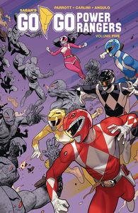 [Go Go Power Rangers; Volume 5 (Product Image)]