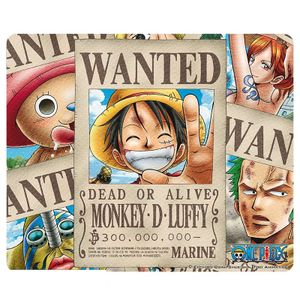 [One Piece: Mousepad: Wanted Pirates (Product Image)]