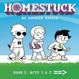 [Homestuck: Volume 1: Act 1 & 2 (Hardcover) (Product Image)]