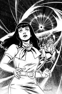 [Bettie Page: Unbound #5 (Ohta B&W Virgin Variant) (Product Image)]