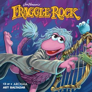 [Jim Henson's Fraggle Rock #3 (Subscription Myler Connecting Cover) (Product Image)]