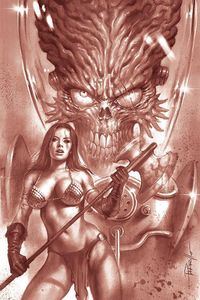 [Mars Attacks/Red Sonja #1 (Parrillo Tint Virgin Variant) (Product Image)]