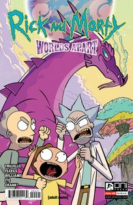 [Rick & Morty: Worlds Apart #4 (Cover B Williams) (Product Image)]