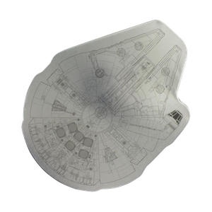 [Star Wars: Jigsaw: Millennium Falcon (Product Image)]