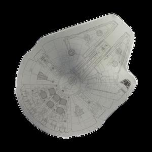 [Star Wars: Jigsaw: Millennium Falcon (Product Image)]