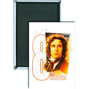 [Doctor Who: Magnet: 8th Doctor (Product Image)]