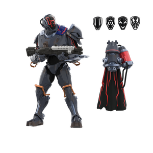 [Fortnite: Victory Royale Series Action Figure: The Seven Collection: The Scientist (Product Image)]
