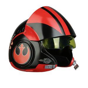 [Star Wars: The Force Awakens: Helmet Replica: Black Squadron Poe Dameron (Product Image)]