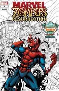 [Retail Summit 2020: Marvel Zombies: Resurrection #1 (Lubera Variant) (Product Image)]