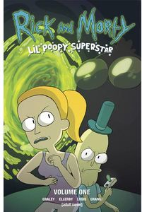 [Rick & Morty: Lil Poopy Superstar: Volume 1 (Signed Edition) (Product Image)]