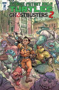 [Teenage Mutant Ninja Turtles/Ghostbusters II #2 (Cover B Tunica) (Product Image)]