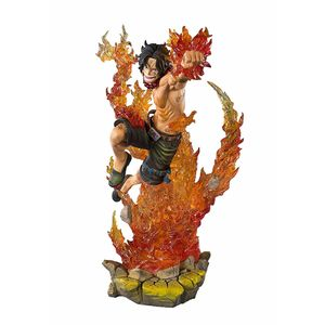 [One Piece: Figuarts Zero Statue: Portgas D Ace (Product Image)]