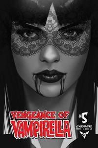[Vengeance Of Vampirella #5 (Oliver Black & White Variant) (Product Image)]