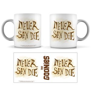 [The Goonies: Mug: Never Say Die! (Product Image)]