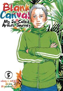 [Blank Canvas: My So-Called Artist's Journey: Volume 5 (Product Image)]
